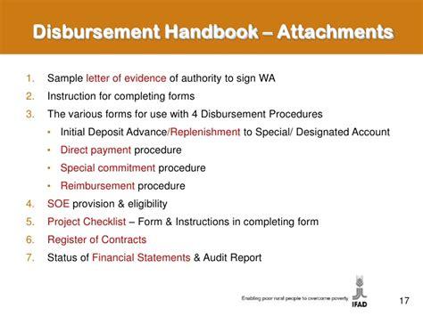 Disbursement Of Loan Letter Format loan administration