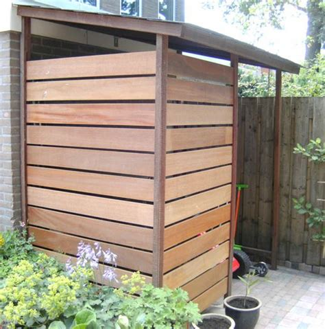 Storage Shed Solutions by Storage Solution For Outside Half Height Version Would Be For Wheelie Bins