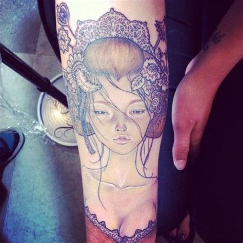 one of the best audrey portrait tattoos i ve seen