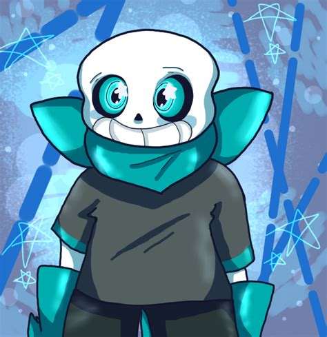 blueberry underswap sans by peppermintloser on deviantart