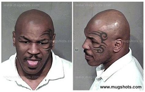 Mike Tyson Arrest Records Mike Tyson Mike Tyson Professional Boxer Reported To Been Arrested At Least 38