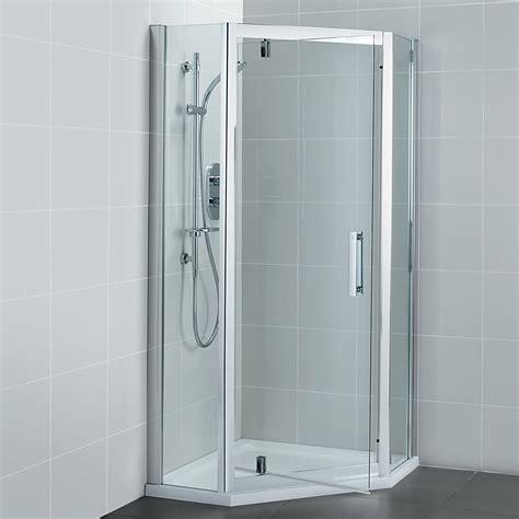 Ideal Standard Synergy 800 X 1900mm Pivot Door Pentagon 800 Pivot Shower Door