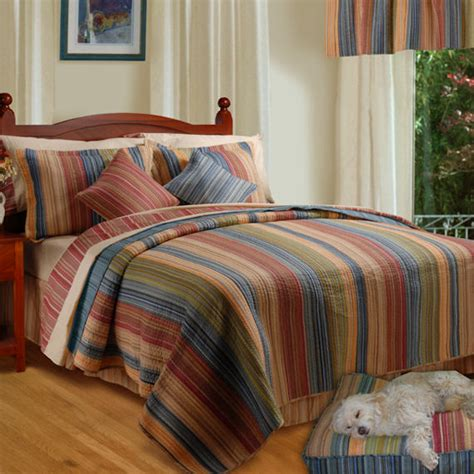 Katy Quilt greenland home fashions katy quilt set