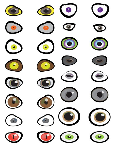 printable ghost eyes image gallery halloween eyeballs printable