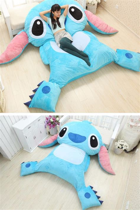 stitch bedding huge sofa bed character lilo and stitch theme