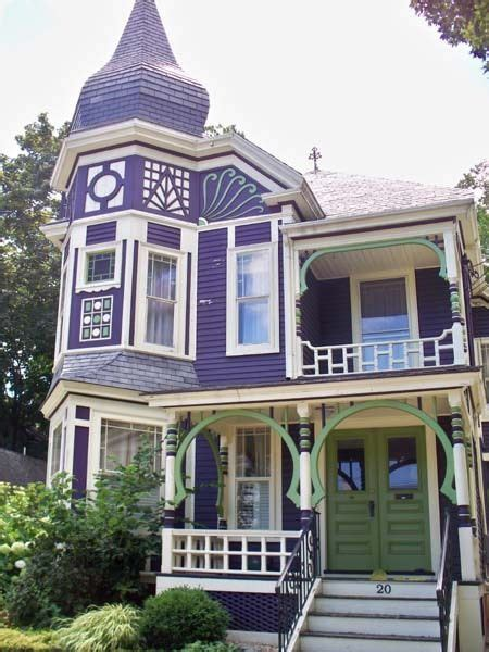 House Of Color Purple by Beautiful Purple House 1837 1890 Colour
