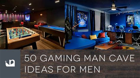 50 gaming man cave ideas for men youtube