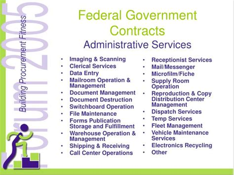 Contract Administrator Resume Sles by Federal Contracts For Professional Admin And Management