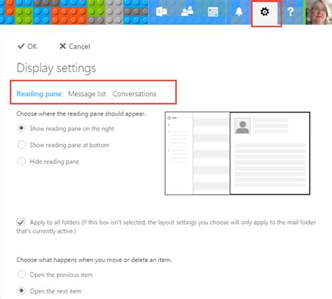 Office 365 Outlook Display Settings Disable Conversation View In Outlook And Outlook On
