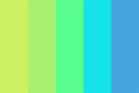 cold colors pastel cold color palette