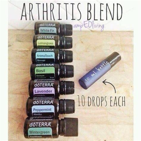 essential oils for arthritis arthritis blend doterra arthritis