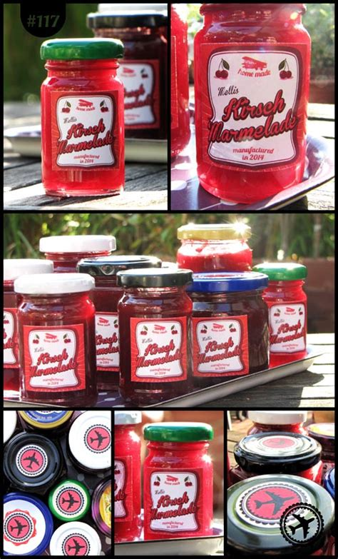 Etiketten Kirsch Marmelade by M Beutel Kirsch Marmelade Etiketten M Beutel