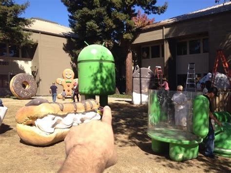 android statues android statue maker is readying s lawn for future photo ops asking for volunteers