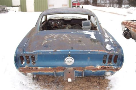 Parts 1967 Ford Mustang Fastback 2 Door Project For Sale 1967 Ford Mustang Fastback Project Car Build Eleanor Or Shelby Clone 1968 Classic Ford