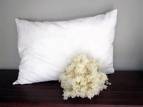 Wool Filled Pillow by Wool Pillow European Sleep Design Sacramento Folsom Ca