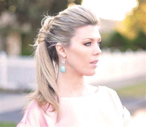 maegan tintari hair style tools ponytail twist wedding hairstyles real simple