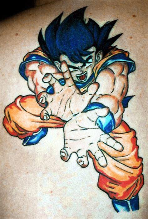 imagenes de goku tatuajes 44 tatuagens para os f 227 s de dragon ball e dragon ball z