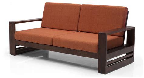 parsons sofa parsons wooden sofa 2 seater urban ladder