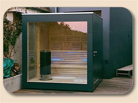 Gartenhaus Mit Glasfront by Gartensauna Cube Cubus Design Vom Hersteller Holzon De