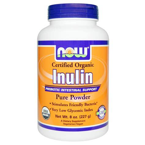 supplement 8g inulin powder prebiotic intestinal support probiotic