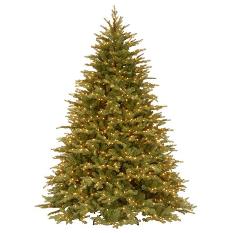 feel real alaskan spruce tree national tree company 9 ft feel real nordic spruce medium hinged artificial tree with