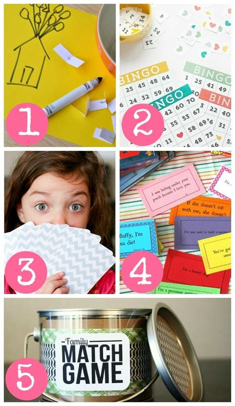 Diy Indoor Games | 85 indoor activities for the whole family