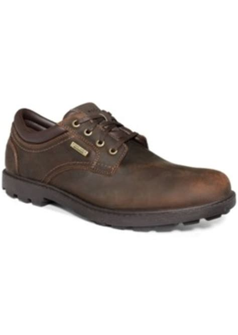rugged mens shoes rockport rockport rugged bucks waterproof shoes s shoes shoes shop it to me