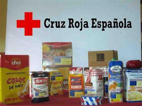 cruz roja distribuye mas de  kilos de alimentos del fega   personas de provincia