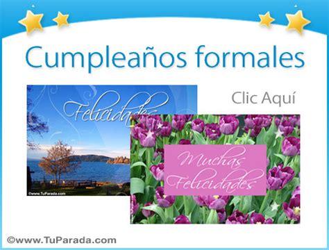 imagenes de cumpleaños formales tarjetas de cumplea 241 os formales postales para cumplea 241 os