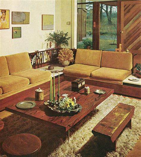 1960s living room 1960s living room retro home decor