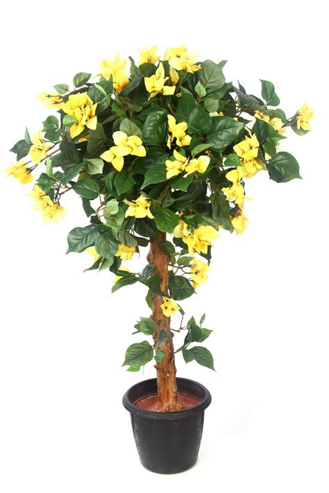 plants used for topiary artificial yellow bougainvillea topiary plants in