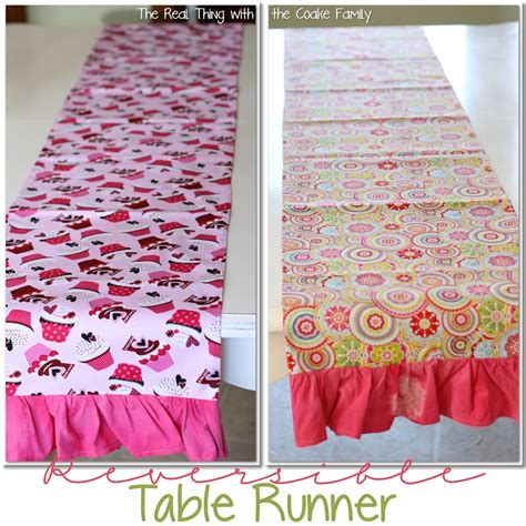 Table Runner Pattern 187 The Real Thing With The Coake Family Table Runner Template