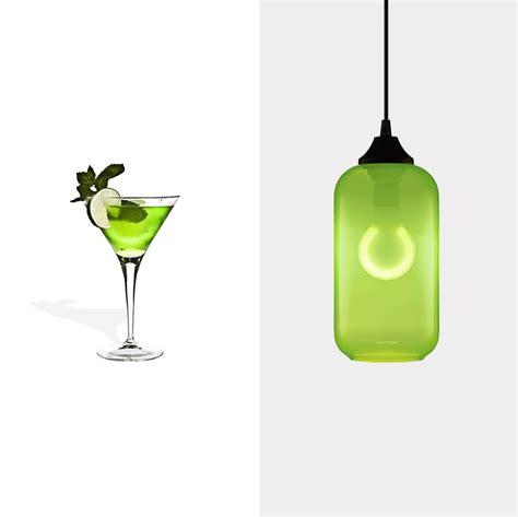 Green Glass Pendant Lighting Green Glass Pendant Lighting Celebrates National Margarita Day