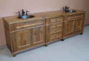 distressed wood bathroom furniture best pallet wall