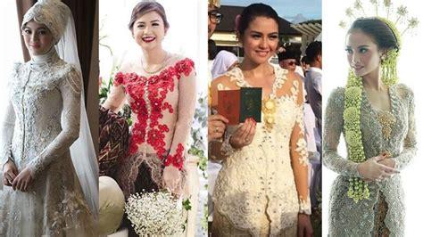 trend kebaya berhijab para sosialita 15 inspirasi model kebaya modern tuk hadiri berbagai acara