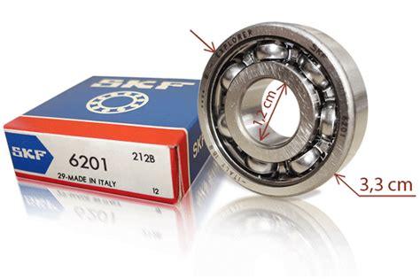 Bearing 6201 2rsh Skf lambretta front hub bearing skf 6201 new ebay