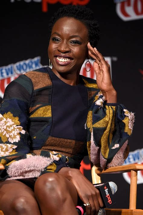 10 And At The Comic Con by Danai Gurira And The Cast Of The Walking Dead At The