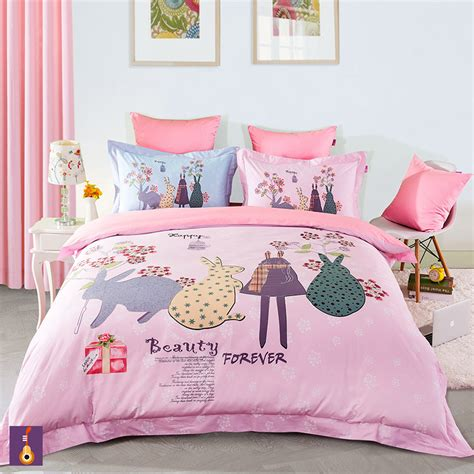 pink princess comforter sets princess pink bedding set girls comforter set bedclothes