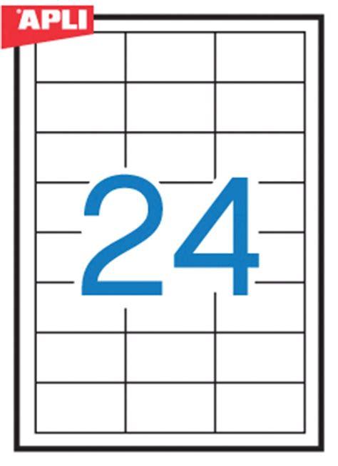 universal labels apli 64 6x33 8mm rectangle white 100 sheets eko biuro