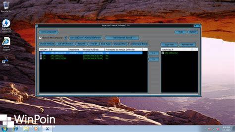 tutorial netcut terbaru cara install netcut di windows 7 winpoin