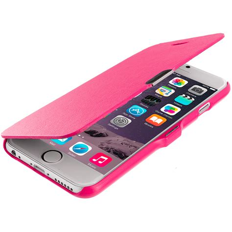 Softcase Leather Iphone6 Iphone6s for apple iphone 6 4 7 magnetic wallet flip soft