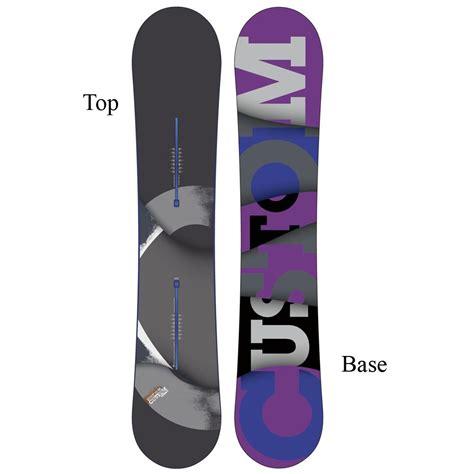 Handcrafted Snowboards - burton custom flying v rocker snowboard s glenn