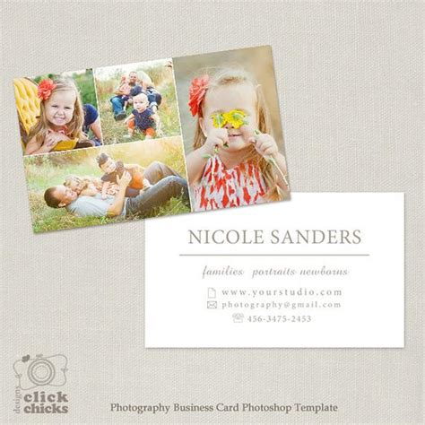 Photography Business Card Photoshop Template For Photographers Card Templates Photoshop