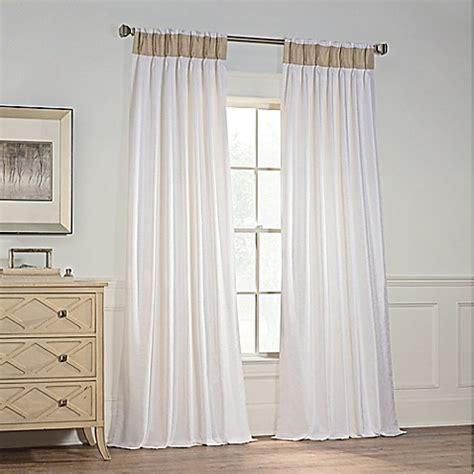 pinch pleat curtains bed bath beyond milena pinch pleat window curtain panel bed bath beyond
