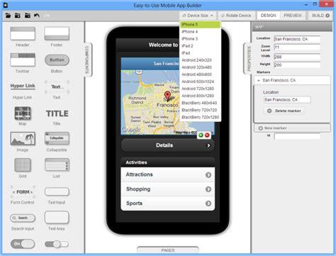 mobile app builder 5 best free mobile app makers techno faq
