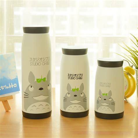 Termos Totoro Simple simple stainless steel thermos vacuum cup cat