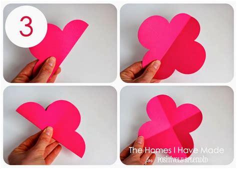 cara membuat hiasan dinding unik dari kertas membuat hiasan dinding bunga 3d all about handycraft