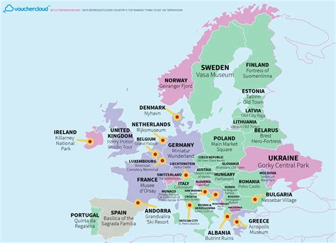 tripadvisor best cities this really cool map shows the world s top tourist