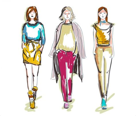 fashion vectors eps png jpg svg format