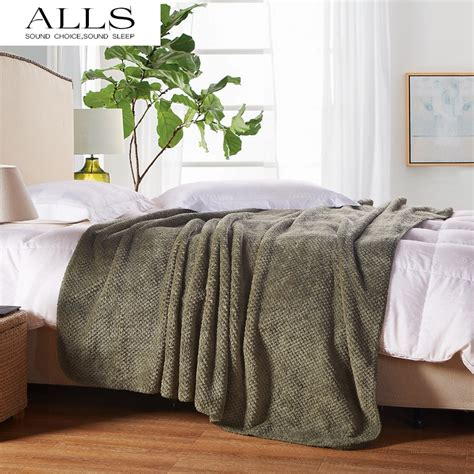 bed blankets aliexpress com buy japanese style blanket on bed sofa